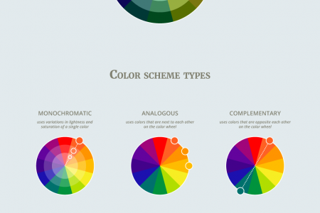 How to Create a Perfect Color Scheme Infographic