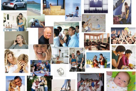 How to Create a Photo Collage With PowerPoint Infographic