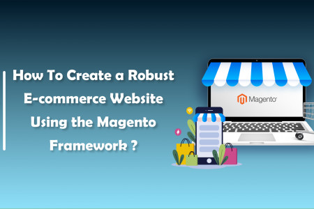 How To Create A Robust E-commerce Website Using the Magento Framework ? | CandidRoot Solutions  Infographic
