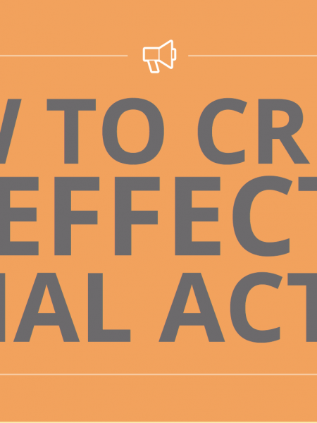 How to Create an Effective Social Action that leads to Change Infographic