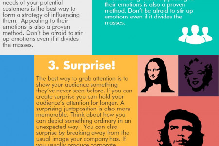 How to create an eye catching poster design Infographic