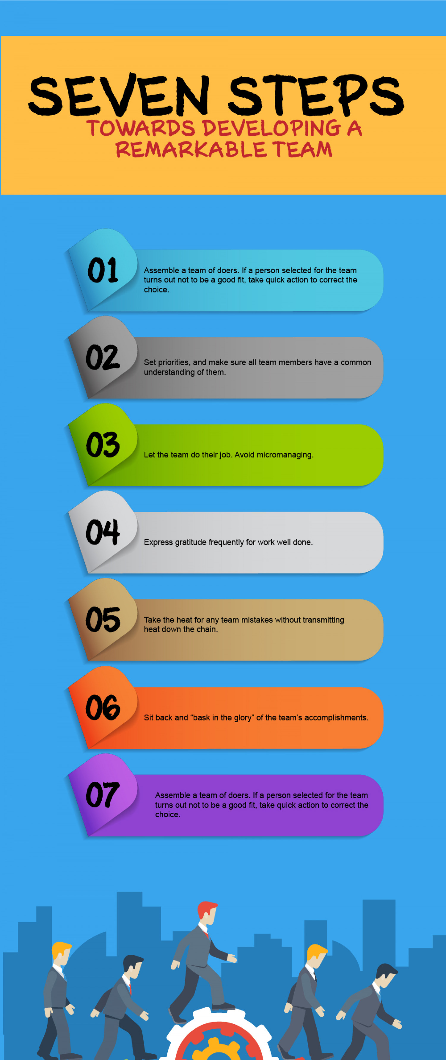 How To Create An Outstanding Team Infographic