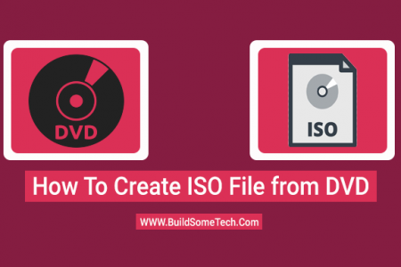How to Create ISO From DVD/CD in Windows 10/7 [ImgBurn] Infographic