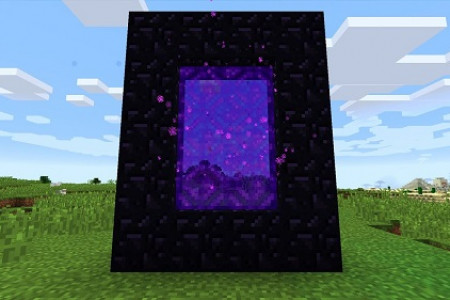 How to Create Nether Portal in Minecraft? Infographic