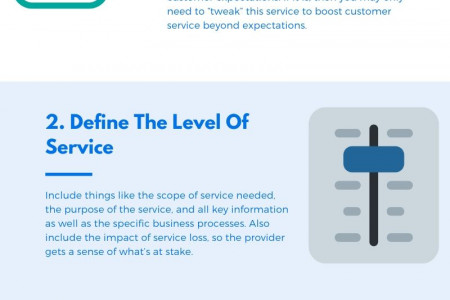 How to create Service level agreement Infographic