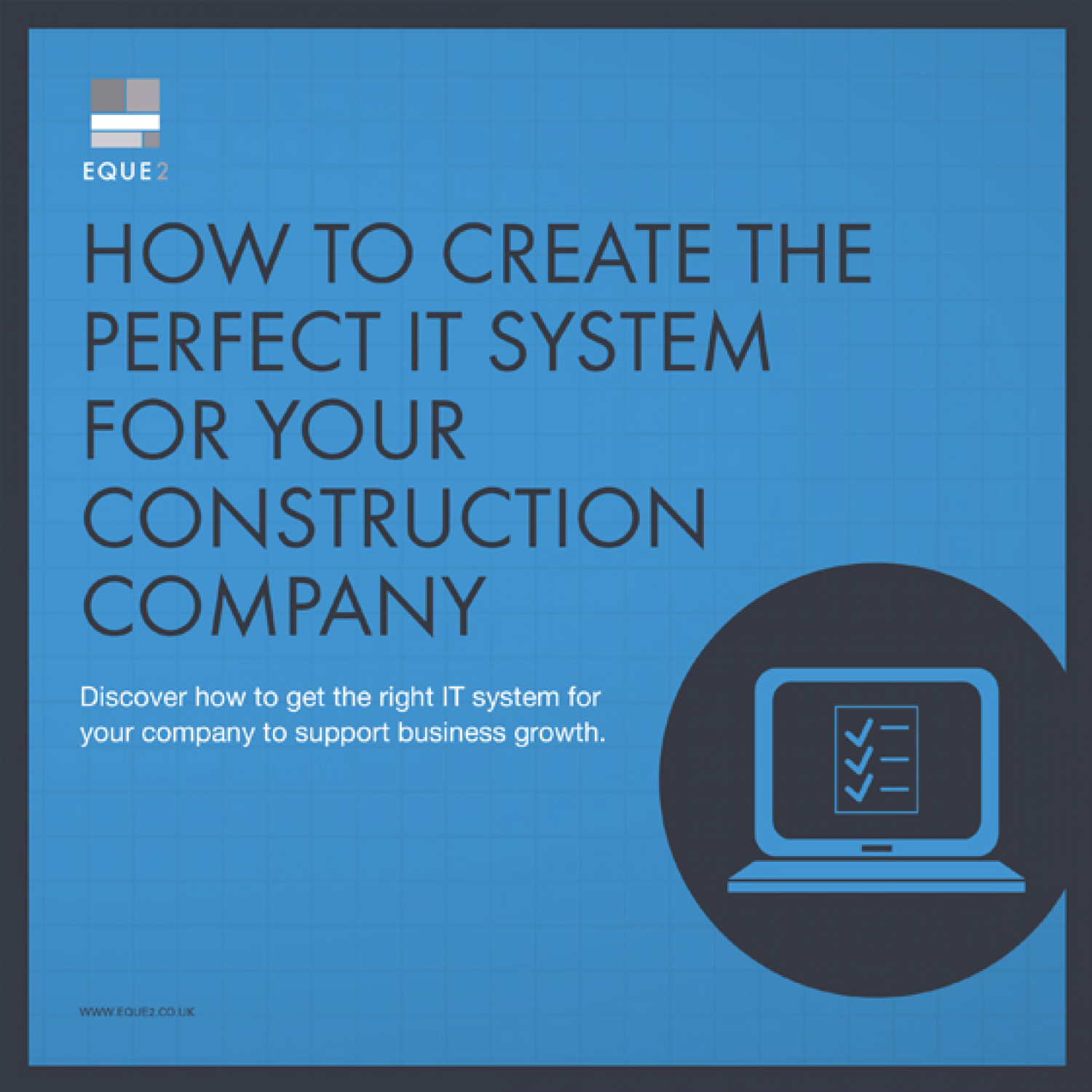 How to Create the Perfect IT System For Your Construction Company Infographic