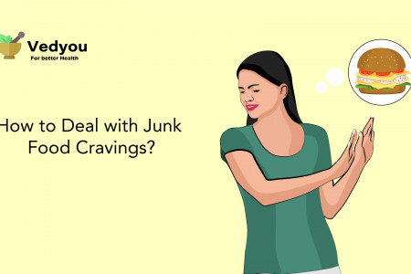 How to Deal with Junk Food Cravings? Infographic