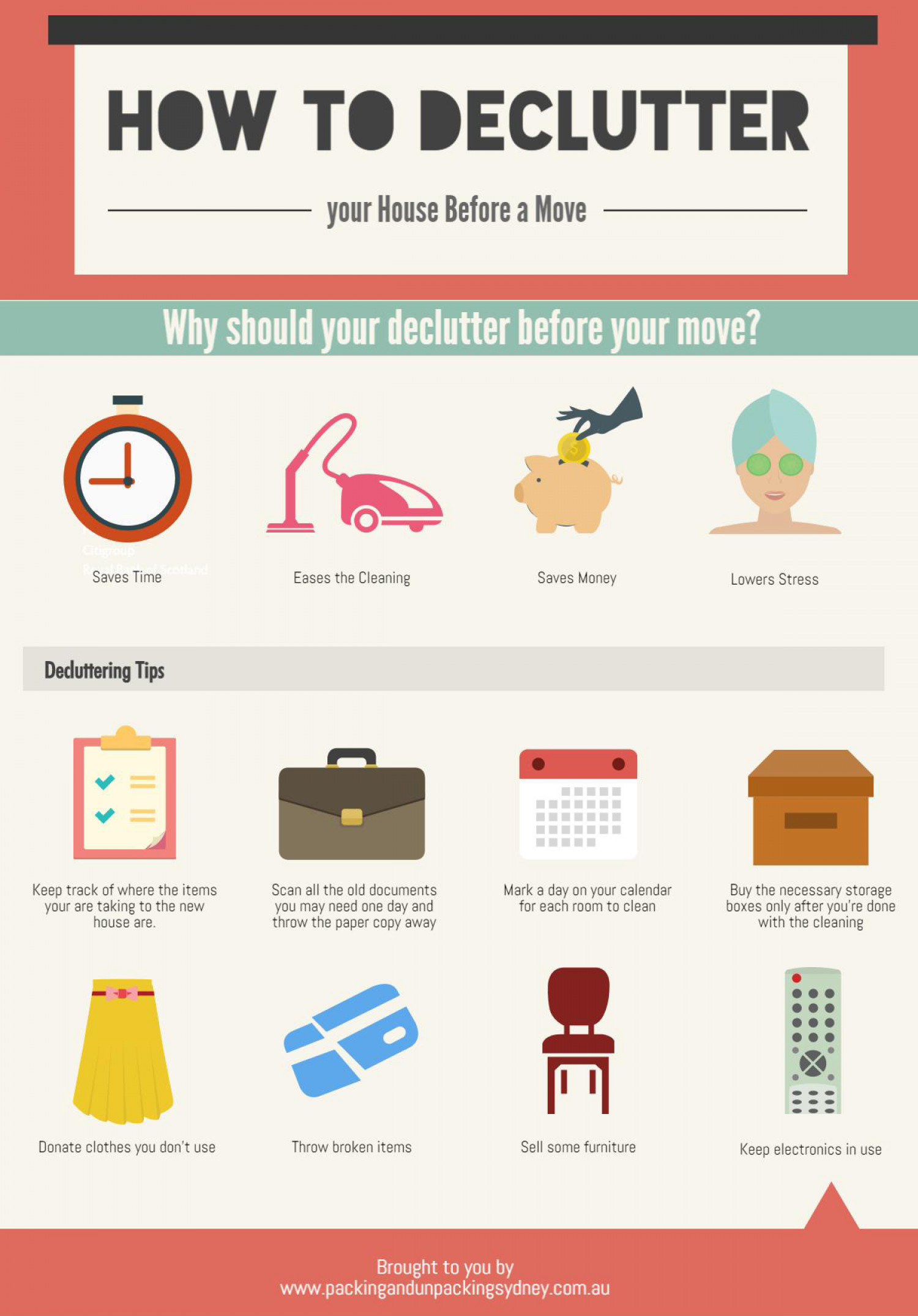 How To Declutter Your House Before A Move Visually - Decluttering your bedroom