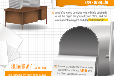 How to De-Clutter Your Office Infographic