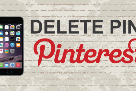 How to Delete a Pin on Pinterest Infographic