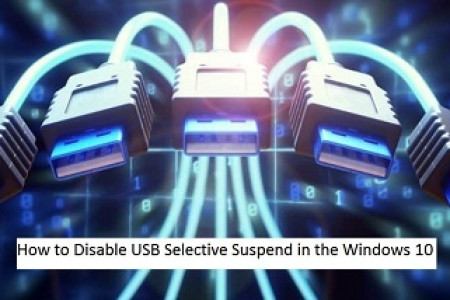 How to Disable USB Selective Suspend in the Windows 10 Infographic