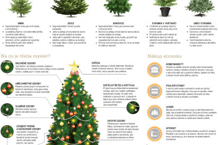 How to do it – Christmas tree Infographic