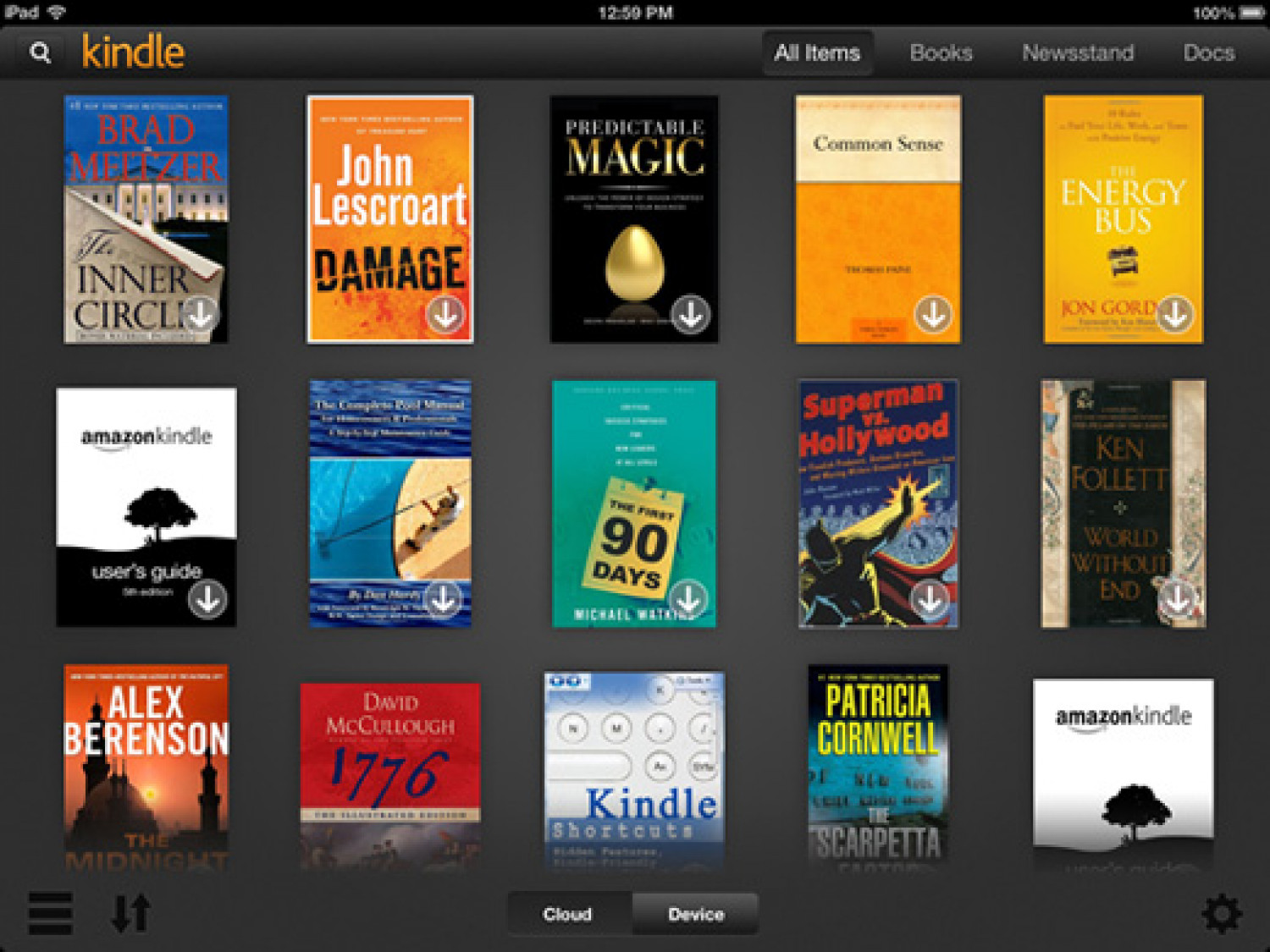 How to Download Books from Kindle for iPad Infographic