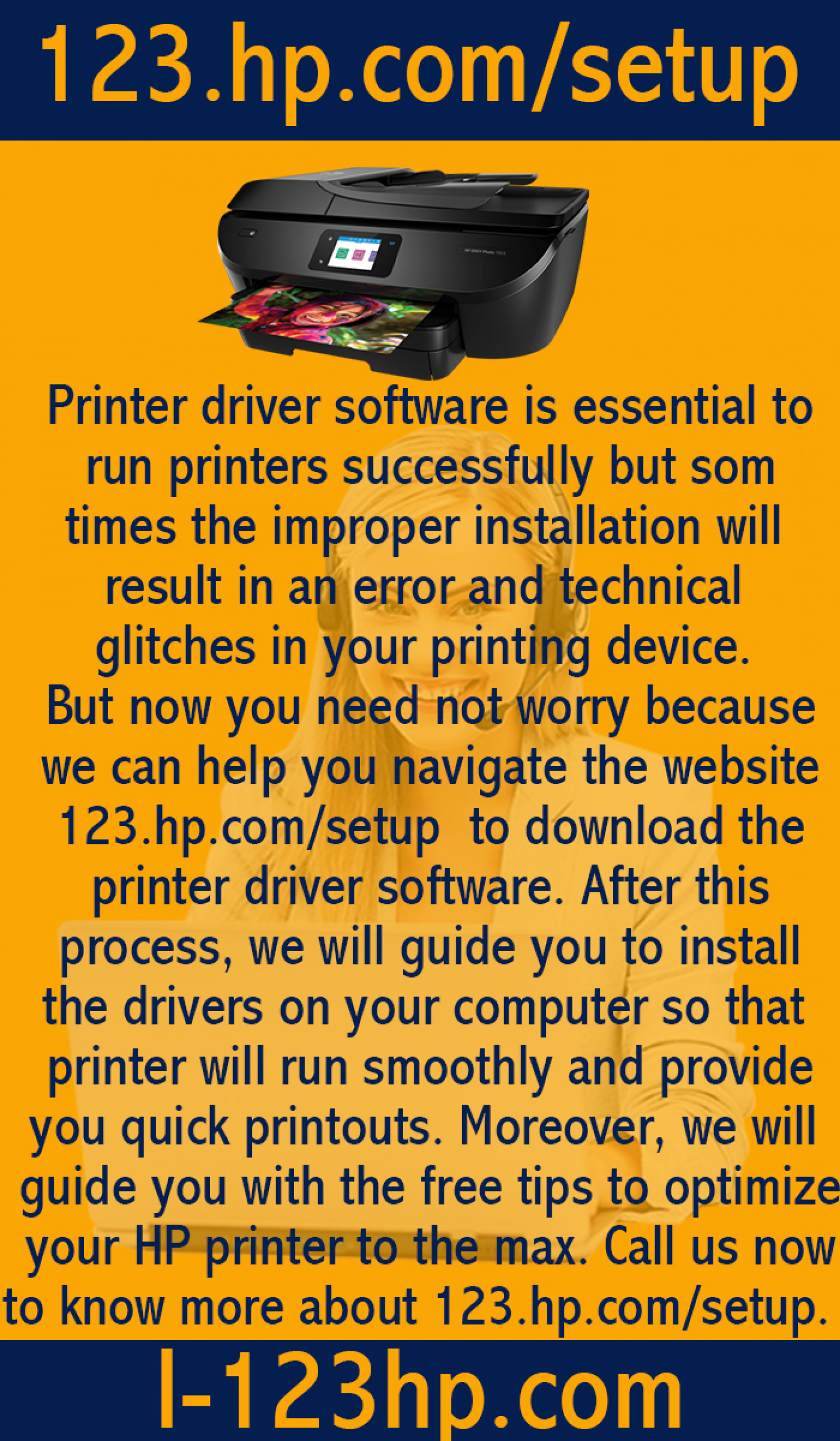 How to download the HP printer driver software? Infographic
