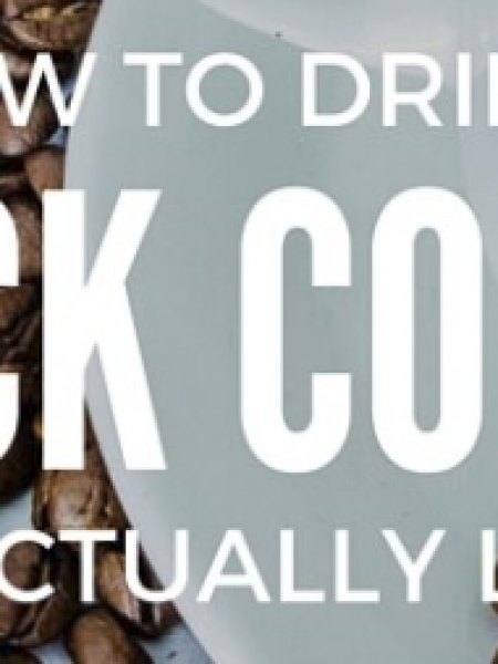 How To Drink Black Coffee Infographic