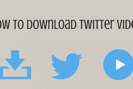 How to Easily Download Twitter Videos Infographic