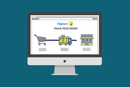How To: Easily Track Flipkart Orders Through Their Website & App Infographic