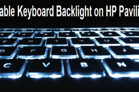 How to Enable Keyboard Backlight on HP Pavilion Infographic