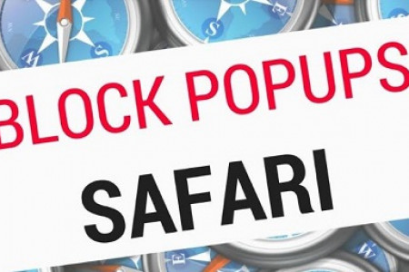 How to Enable/Disable Pop-Up Blocker on Safari? Infographic