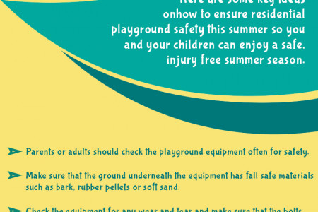 How To Ensure Residential Playground Safety This Summer Infographic