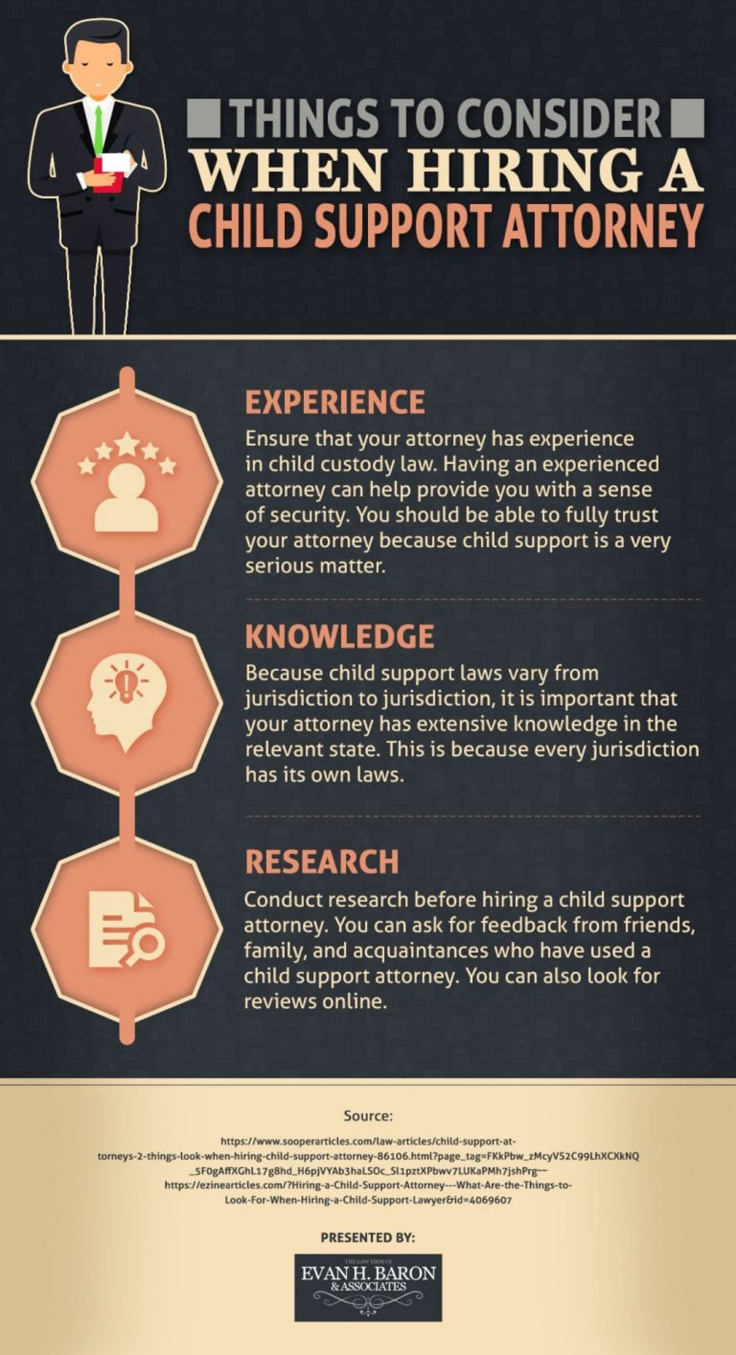 How to Find a Good Child Support Lawyer Infographic