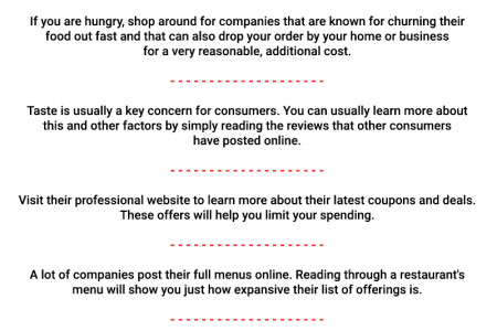 How To Find Best Pizza Restaurants  Infographic