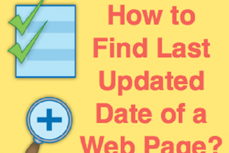 How to Find Last Updated Date of a Web Page Infographic