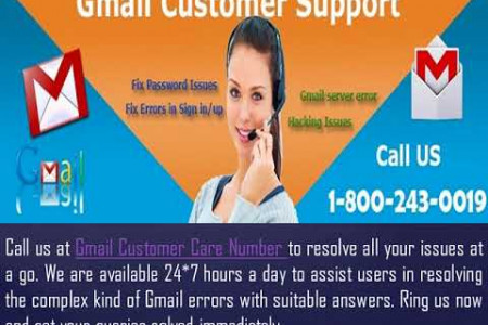 How to Fix Gmail Error 78754? 1-800-243-0019 for Help Infographic
