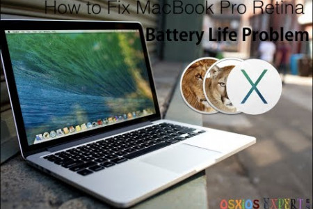 How to Fix MacBook Pro Retina Battery Problem Infographic