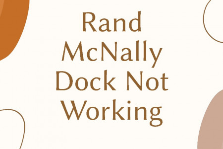 How to Fix Rand McNally Dock Not Working Issue Infographic