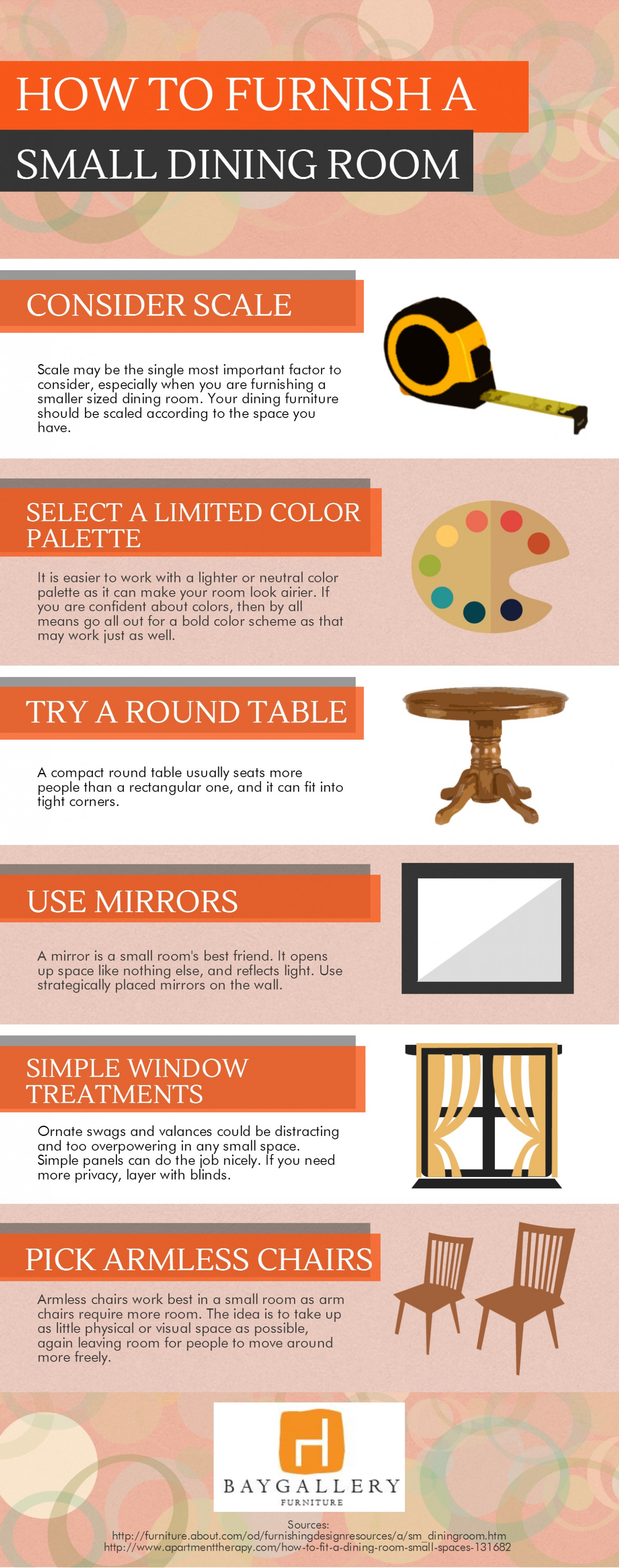How To Furnish House With Modern Furniture: How To Furnish A Small Dining Room