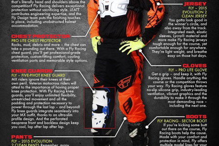 How To Gear Up Like A Pro Motocross Racer Infographic