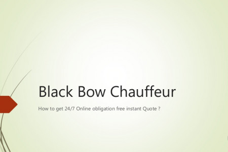 How to Get a Quote, By Black Bow Chauffeur Infographic