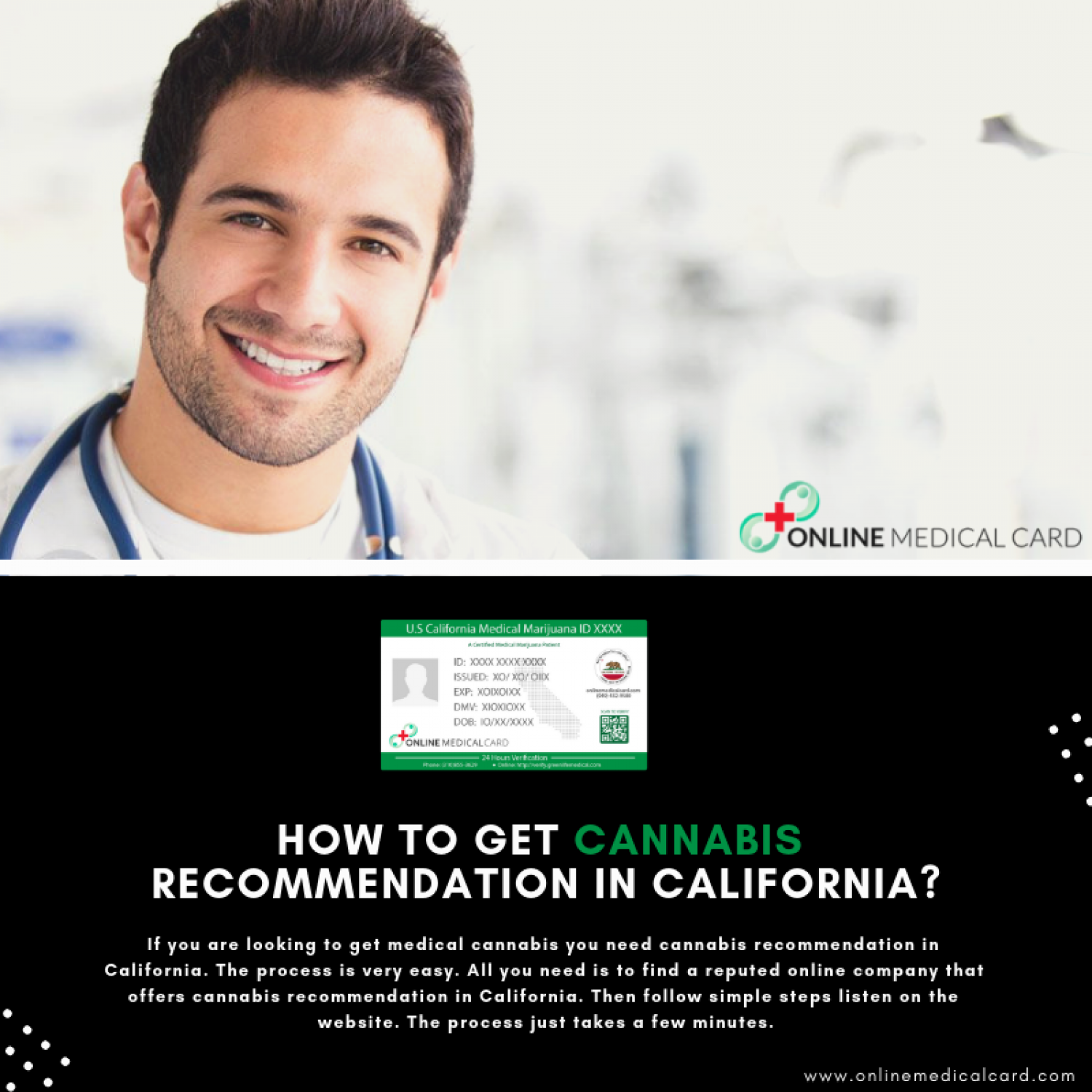 How to get Cannabis Recommendation in California? Infographic