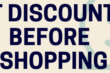 How to Get Discount Before Shopping with Coupon Codes Infographic