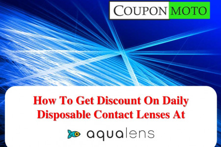 How To Get Discount On Contact Lenses at Aqualens? Infographic