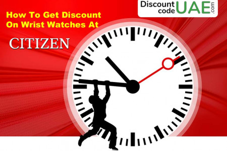 How to get discount on Wrist Watches at Citizen? Infographic
