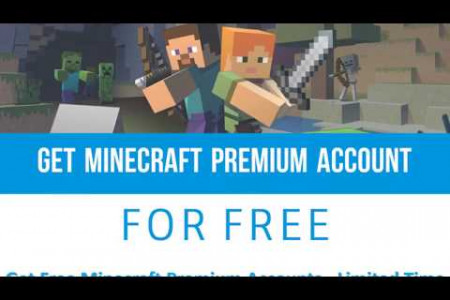 How To Get Minecraft Premium Account for Free - www.McAccountGuides.org Infographic