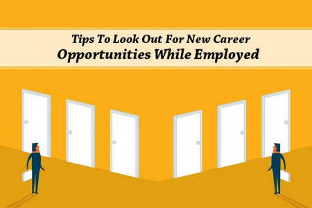 How to Get New Career Opportunities While Employed? Infographic
