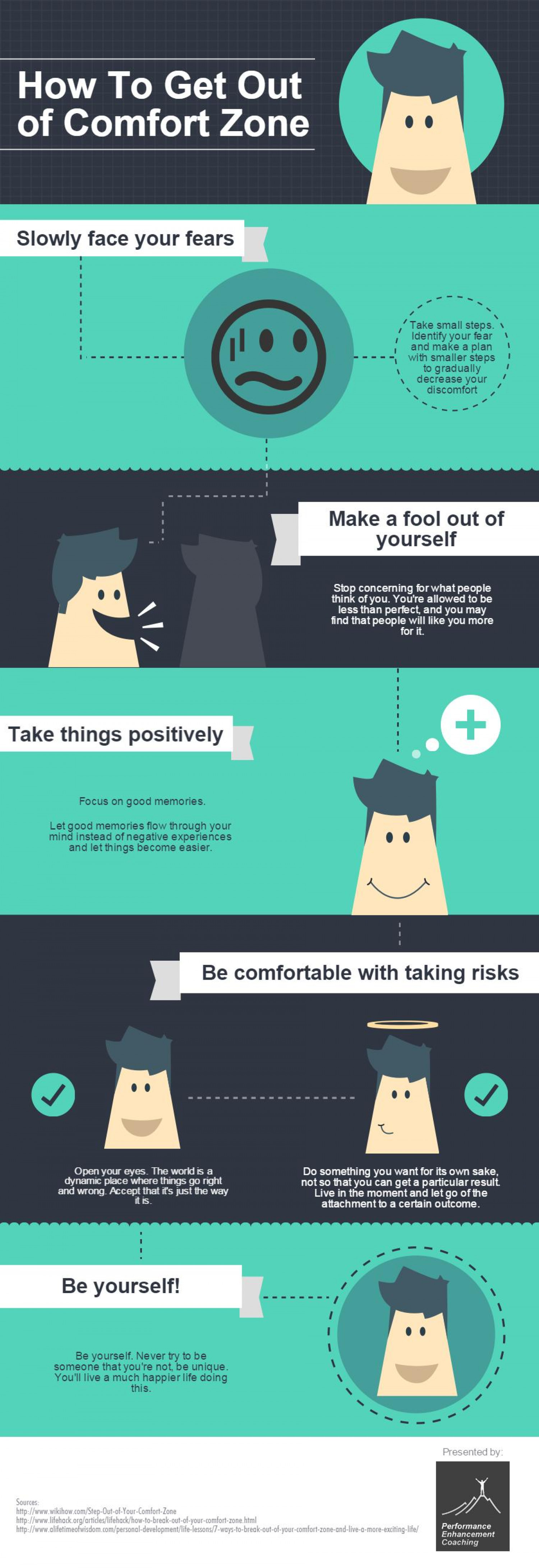How To Get Out Of Comfort Zone