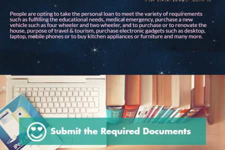 How to get Personal Loan with Instant Approval Infographic