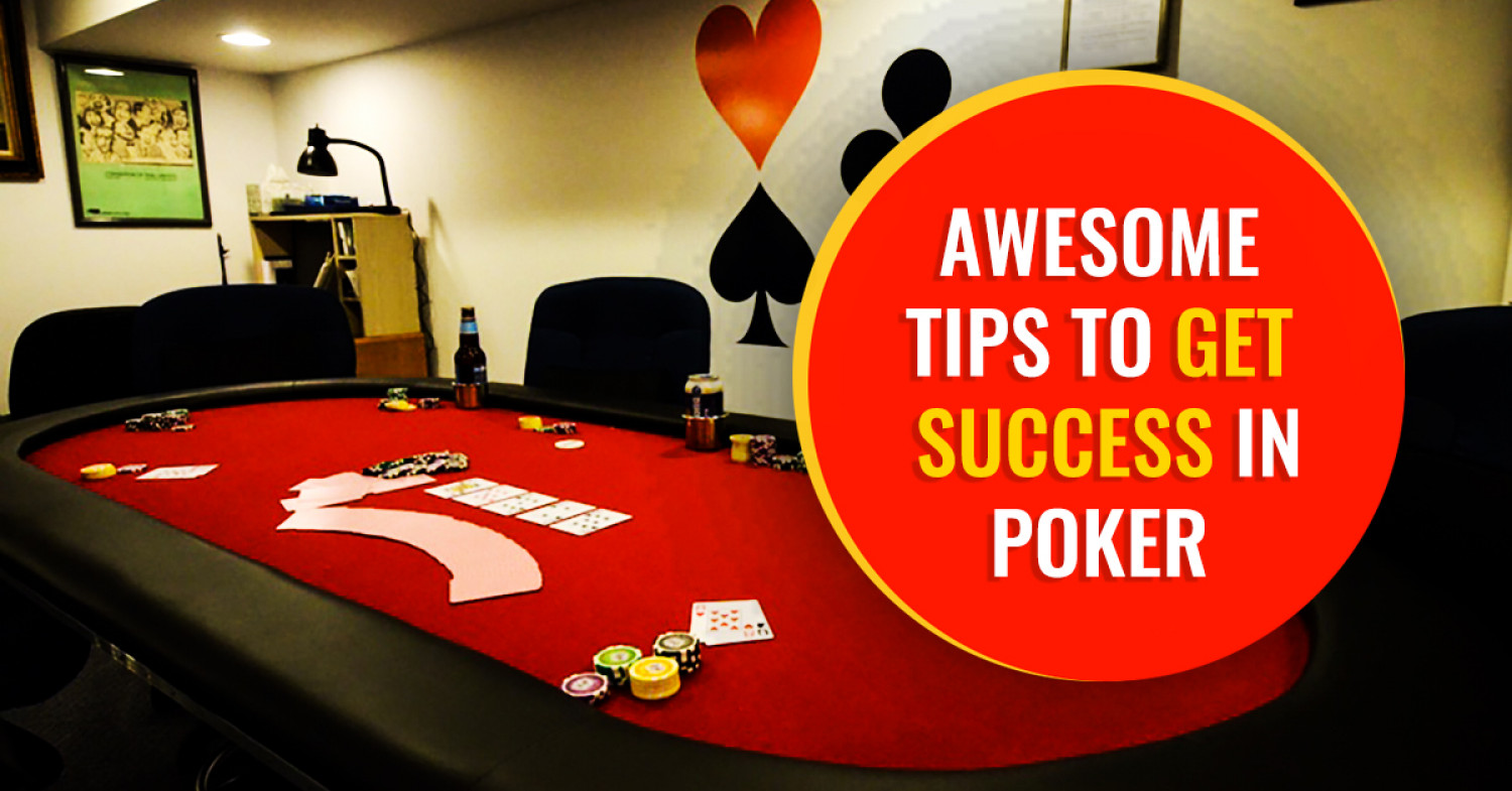 How to get success in Poker? Infographic