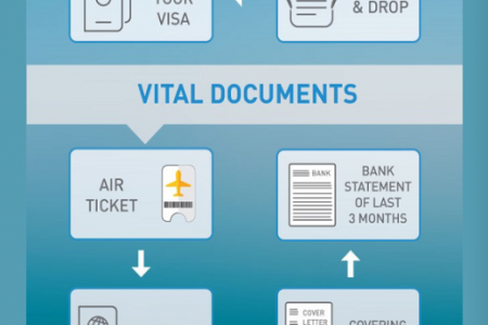 How to get Your Singapore Student Visa Infographic