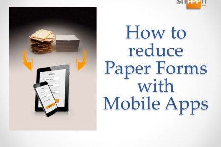 How to Go Paperless with Mobile Forms Infographic