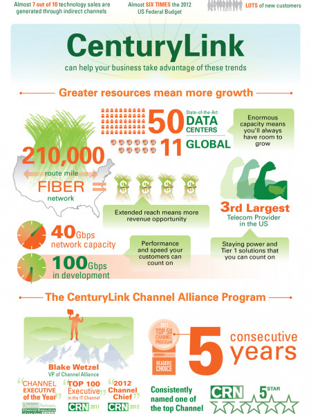 How to Grow Revenue - Partner With the Right Technology Provider Infographic