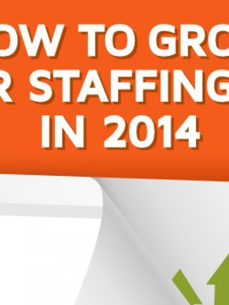 How to Grow Your Staffing Firm in 2014 Infographic