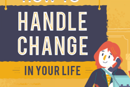 How To Handle Change In Your Life Infographic