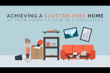 How to Have a Clutter-Free Home Infographic