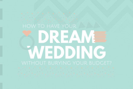 How To Have Your Dream Wedding Without Burying Your Budget Infographic