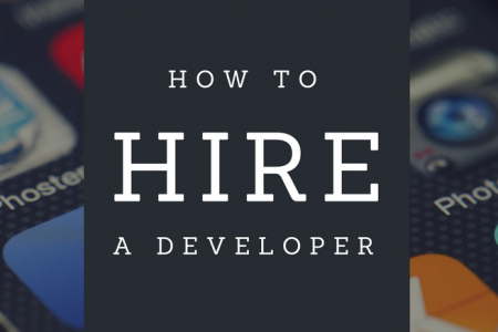 How to hire a Mobile App Deverloper? Infographic